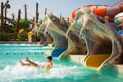 Абу Даби - Yas Waterworld Abu Dhabi